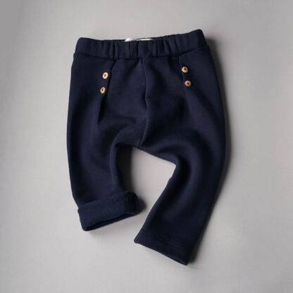 weasel wardrobe sweatpants button be good navy blue